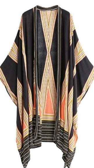 Shein | Geo Print Kimono